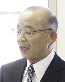 (宮前区)長沢自治会-齋藤会長の写真