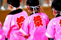 (宮前区)長沢自治会-祭礼子供の写真