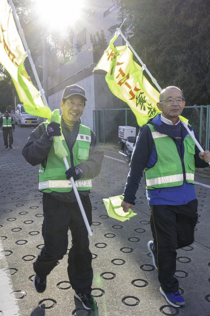 長沢自治会(宮前区)防犯パトロール