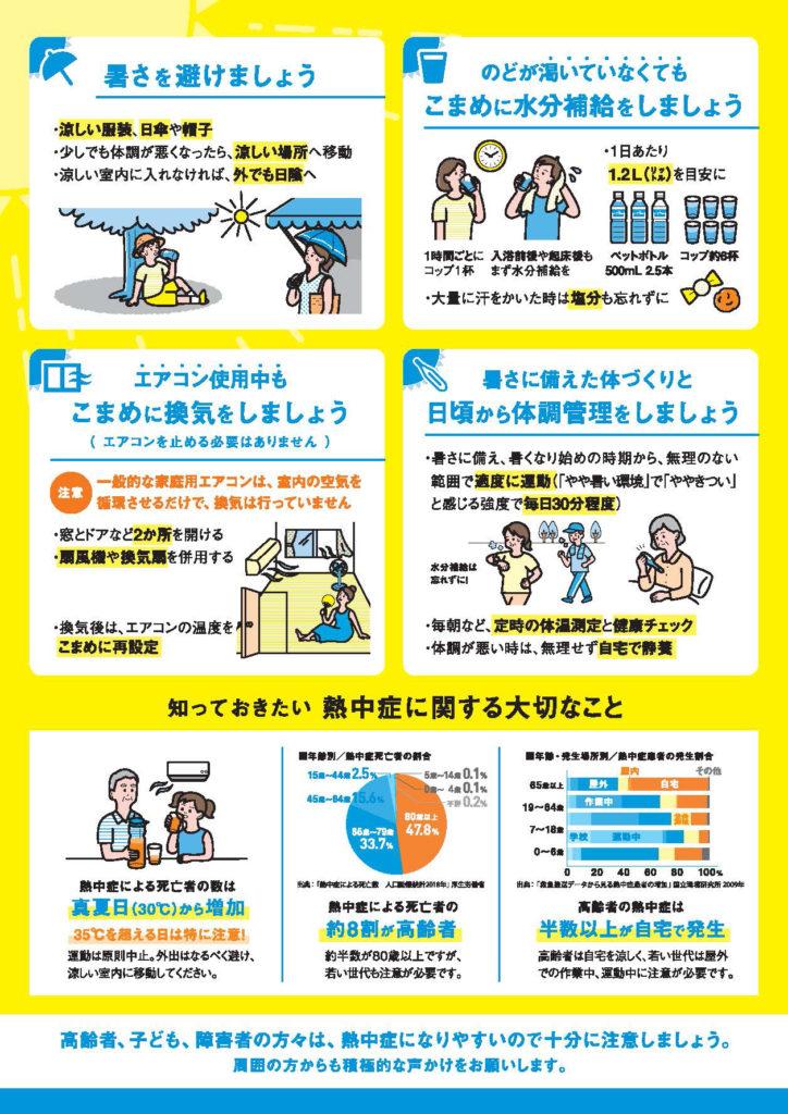 長沢自治会(宮前区)-熱中症予防