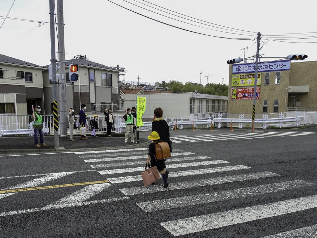 長沢自治会-春の交通安全運動